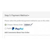 FREE – Opencart 2.x Checkout Payment Logos